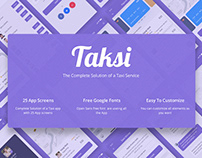 Taksi The Complete Solution for a Taxi service