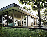 Forest House CG