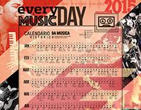 Calendário 2015 - MilSons
