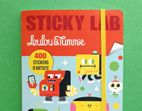 STICKY LAB STICKER BOOK