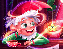 """Children's book """"The Gnome And The Curious Star"""""""