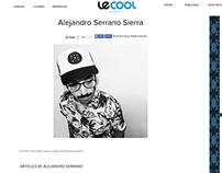 Colaborador en la revista digital: Le Cool Valencia