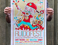 Ruidofest 2015 gig poster