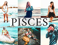 Free Pisces Mobile & Desktop Lightroom Presets