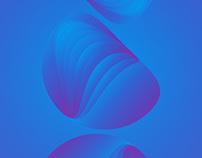 Gradient Mi Note 5 Background wall paper design