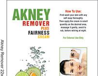 Akney Remover Cream