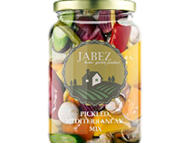 Jabez organic produce label