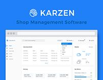 Karzen Shop Management UI/UX