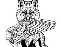 Animal flash designs