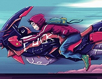 Concept art Superbike