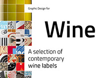 Graphic design for Wine