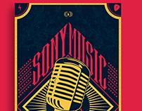 Birthday poster / Sony Music
