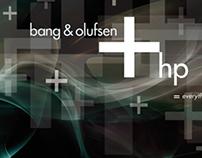 HP + Bang and Olufsen