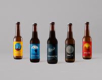 Craft beer labels projects - Browar Bażant