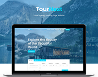 TourNest - Travel Agency Website