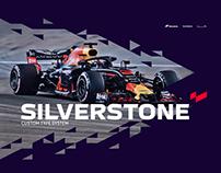 Silverstone Custom Typeface