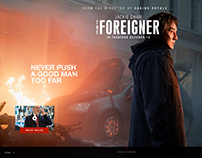 The Foreigner - Movie website