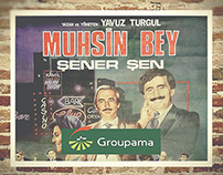 Groupama + IKSV Muhsin Bey Restoration Project Poster