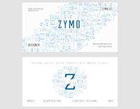 ZYMO custom business card