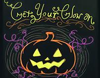 Simple Halloween board