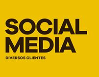 Social Media - Diversos Clientes