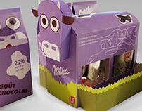Children's snack packaging