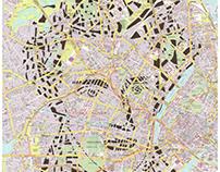 Human Cartography: Søren Kierkegaard / Copenhagen