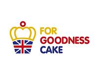 For Goodness Cake logo design