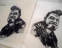 Portrait litho polyester