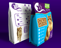 Packaging and logo Design: The Cat