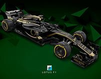 Lotus F1 - Fred Perry F1 Team Concept (Late Braking)