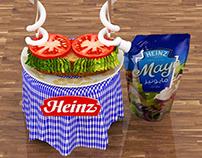 Heinz Mayo Sampling Stand