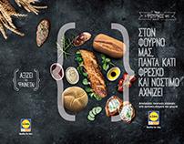 Published - LIDL Supermarket / photoshop & layout