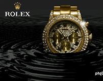 Rolex retouching and designing