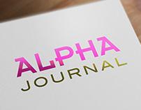 Branding & UI design alphajournal.com