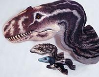 Dinosaur Busts