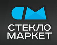 Дизайн логотипа для Стекломаркет