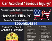Ellis Law Firm Flyer Design