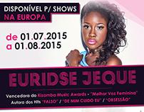 Euridse Jeque - Tour Europa
