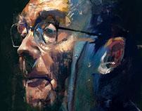 Josè Saramago portrait