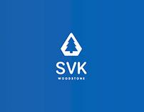 Identity for a construction company SVK WoodStone