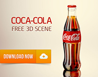 Free 3D Model of Coca-Cola bottle