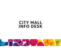 City Mall Info Desk - 3D
