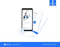 Microsoft Music   Prototype