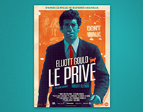 LE PRIVE - French poster