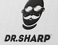 Logo and corporate identity for — «Dr.SHARP»