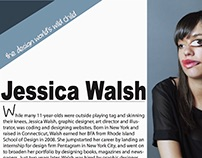 Jessica Walsh Magazine Design