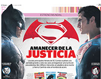 Infografía Batman V Superman