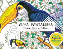 Livro de Colorir para Aldultos , Alma Pantaneira .