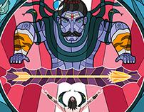 Arjuna & Shiva